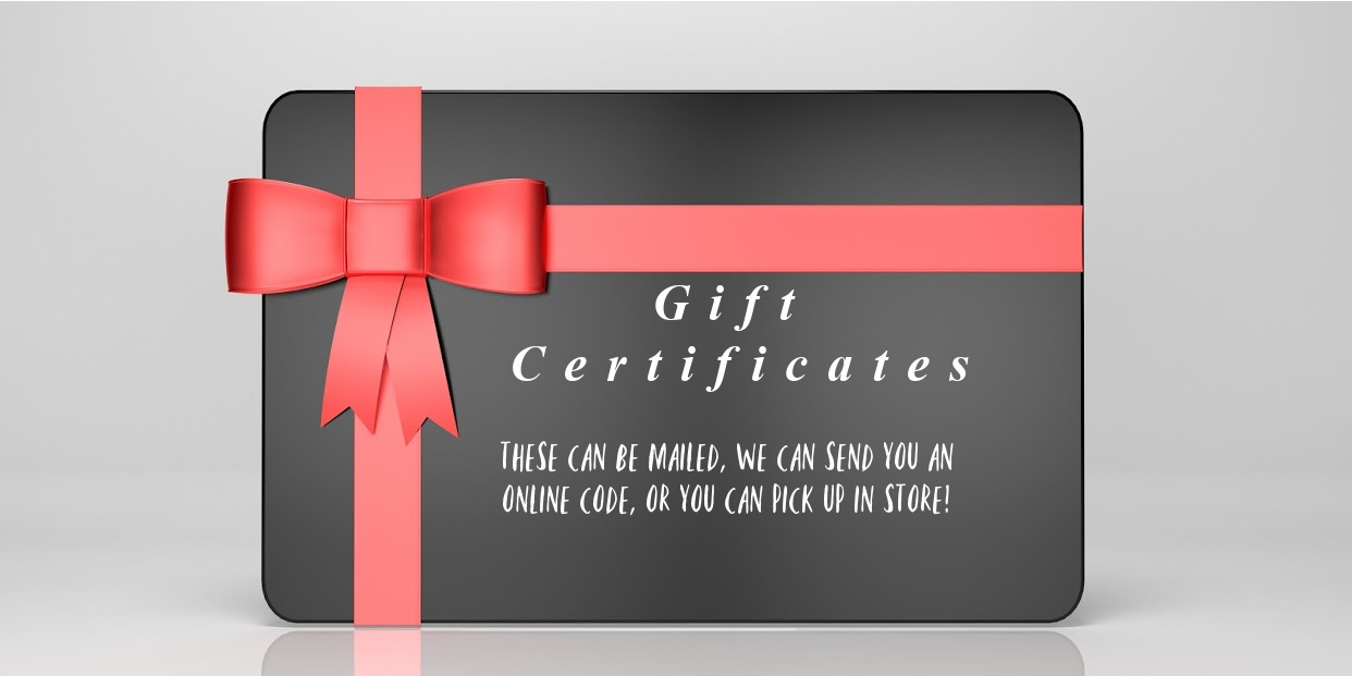 Big 3x giftcertificates