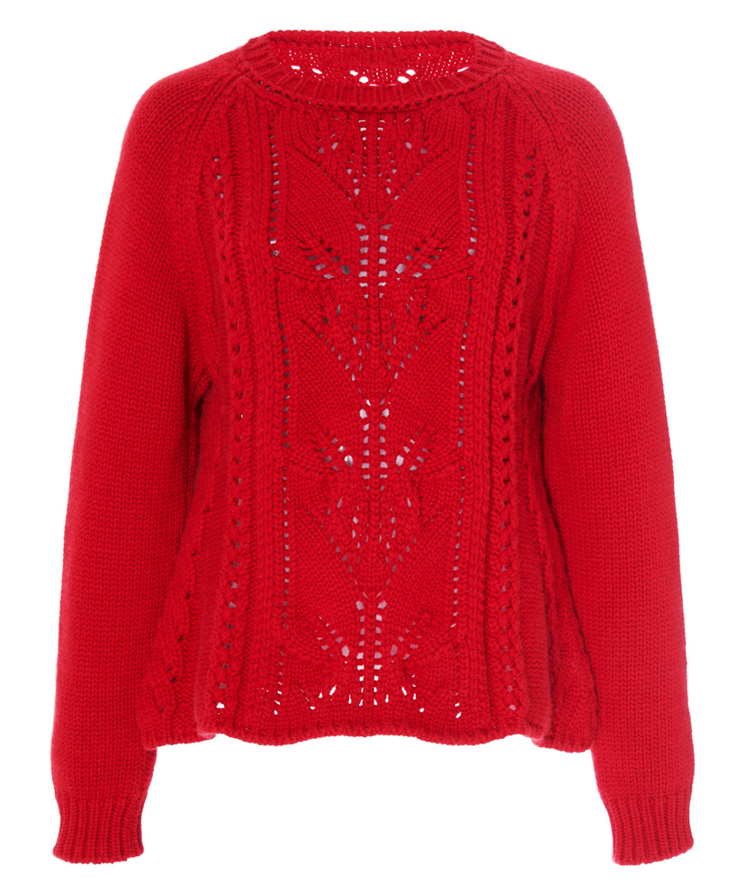 Brock Collection Omeopata Cable Knit Sweater Tops