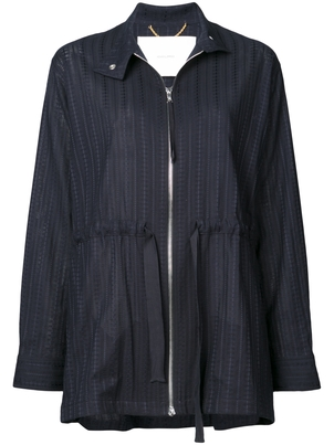 Adam Lippes Swiss Voile Anorak Outerwear