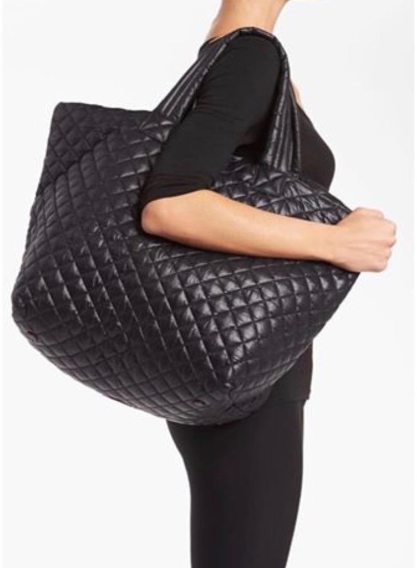 Quilted Cary-All Tote Bag Bags