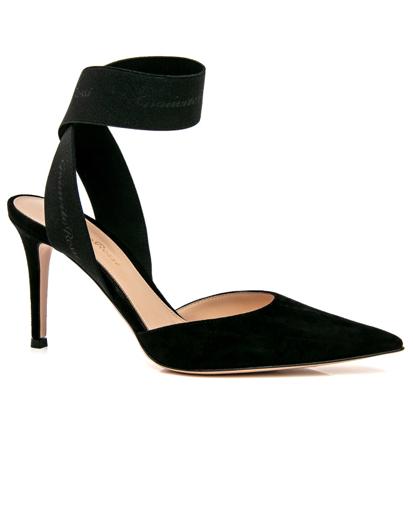 Gianvito Rossi Gianvito Rossi Black Rhia Pump Shoes
