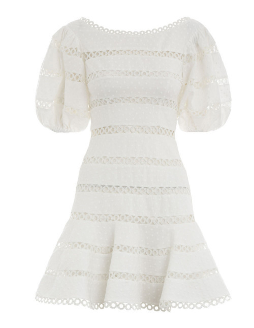 Zimmermann Bowie Contour Hailspot Dress Dresses Sale