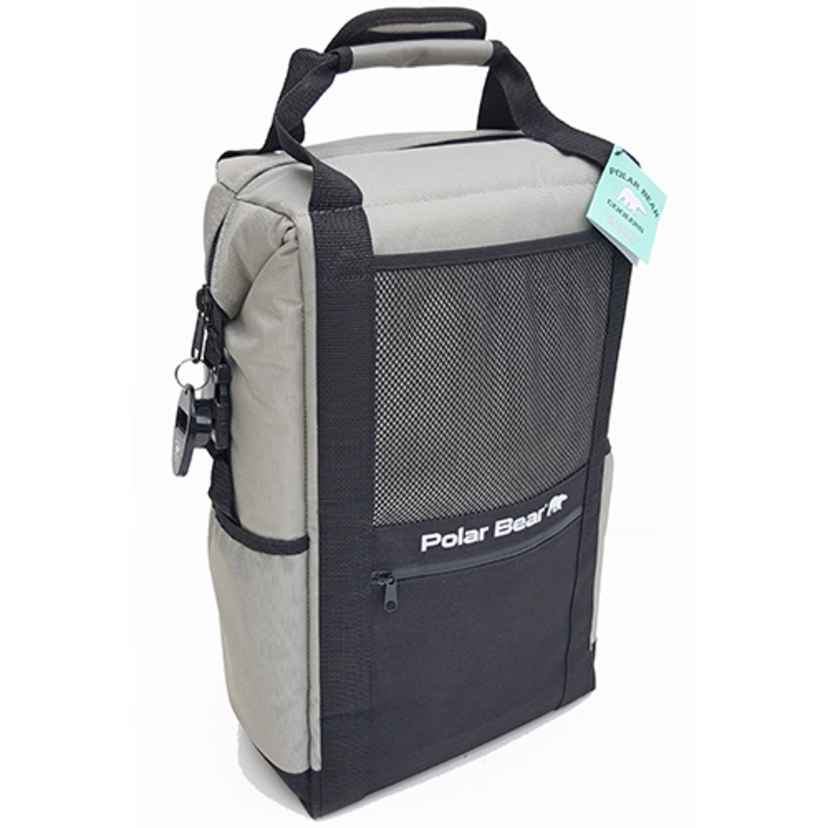 Polar Bear Coolers Backpack Cooler - Silver Gifts