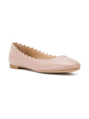 Chloé Lauren Ballet Flats - Pink Tea Gifts Shoes