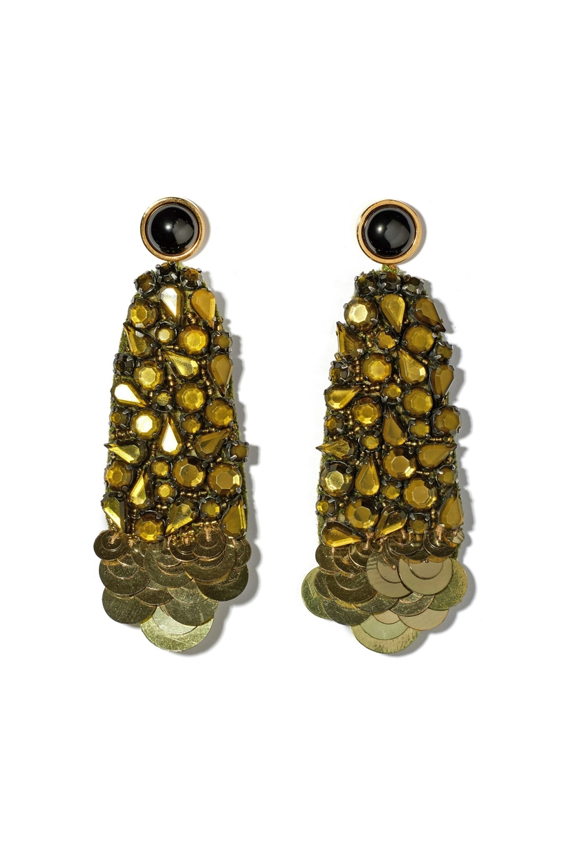 Lizzie Fortunato Olive Tree Earrings Jewelry
