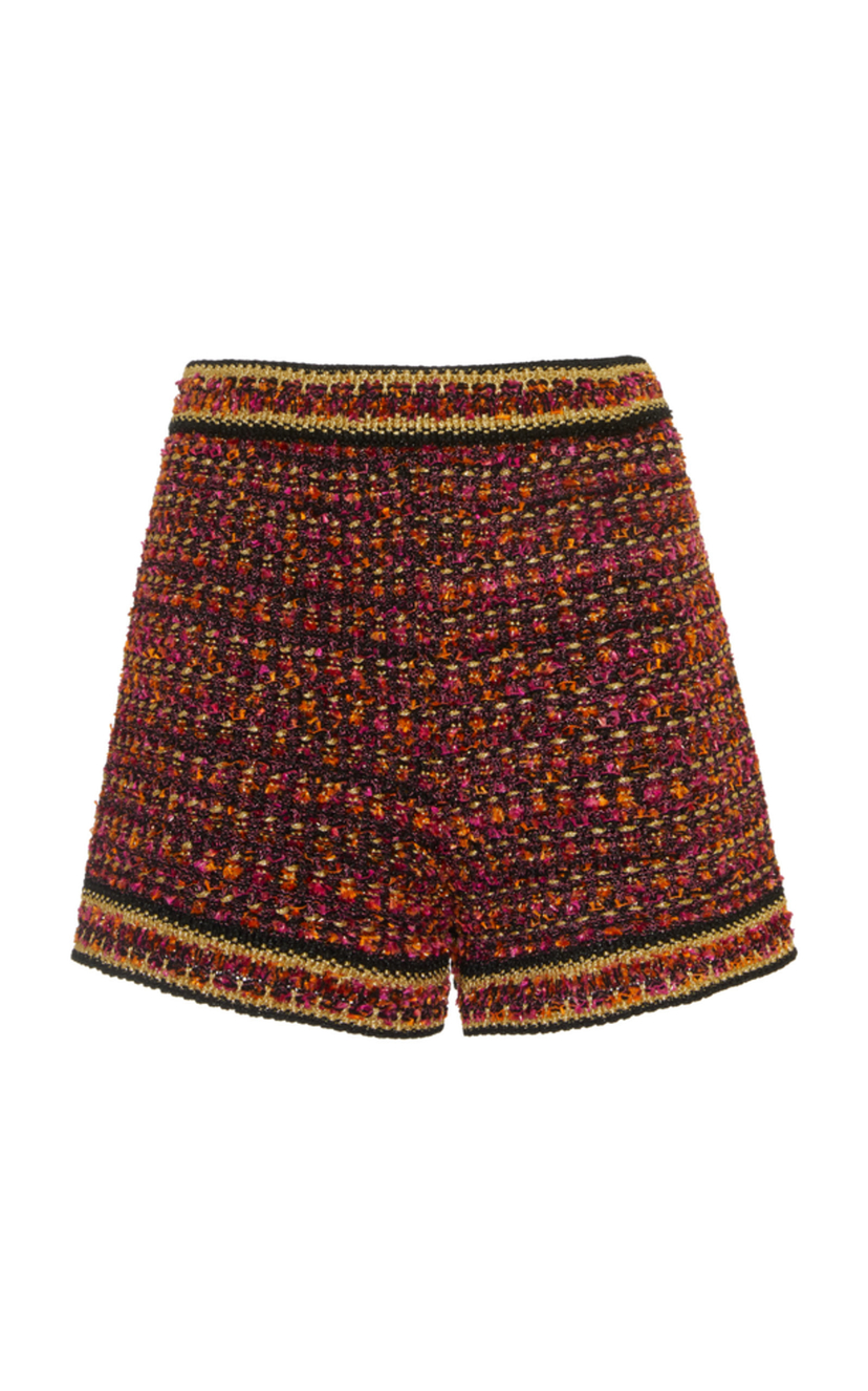 M Missoni Boucle Tweed Shorts Pants Shorts