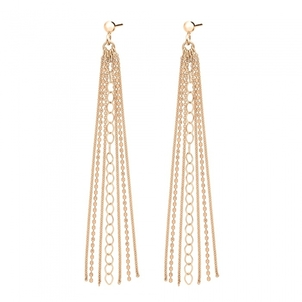 Ginette NY UNCHAINED LONG EARRINGS Jewelry