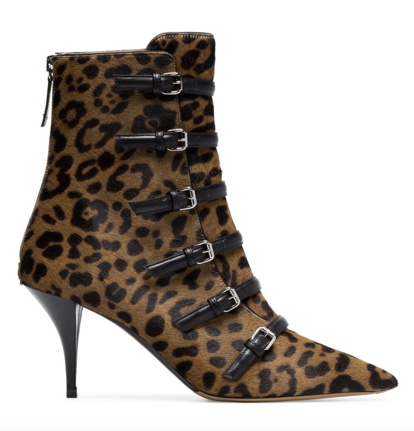 Tabitha Simmons Leopard Calf Hair Bootie Gifts Shoes