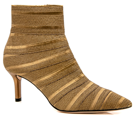 Casadei Flash Bronze Alma Bootie