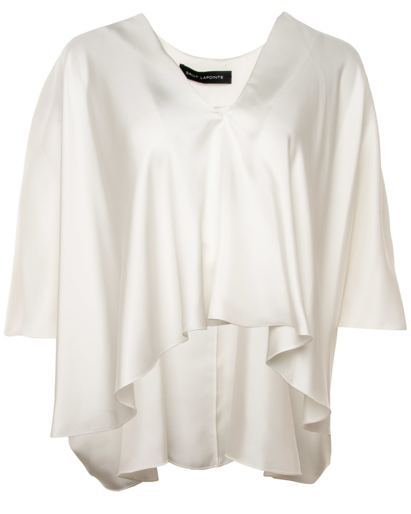 Sally LaPointe Sally LaPointe Silk Blouse Tops