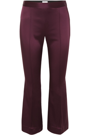 Rosetta Getty Cropped Flare Pant Pants