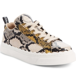 Chloé Lauren Sneaker - September Sun Leather Gifts Shoes