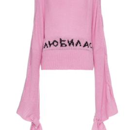 Long Sleeve Pink Jumper (Originally $1,415)