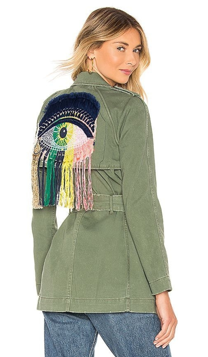 Le Superbe Eye Trench - Army Green Outerwear