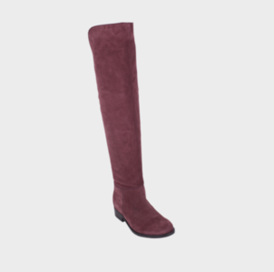 Mark Jenkins Footwear Flyer Suede Over the Knee Boot Shoes