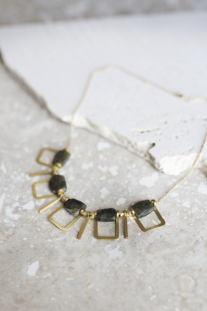 Collections by Joya Joya Sandrine Labradorite Necklace Jewelry