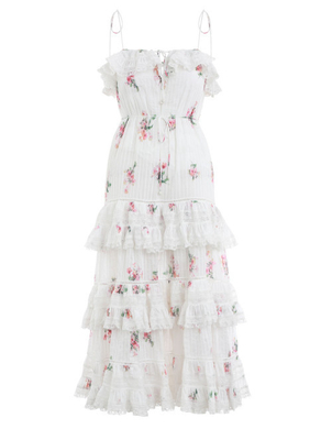 Zimmermann Sleeveless Pintuck Dress Dresses