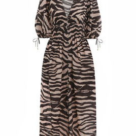 Zebra Printed Dress