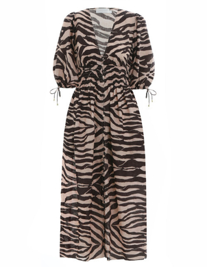 Zimmermann Zebra Printed Dress Dresses