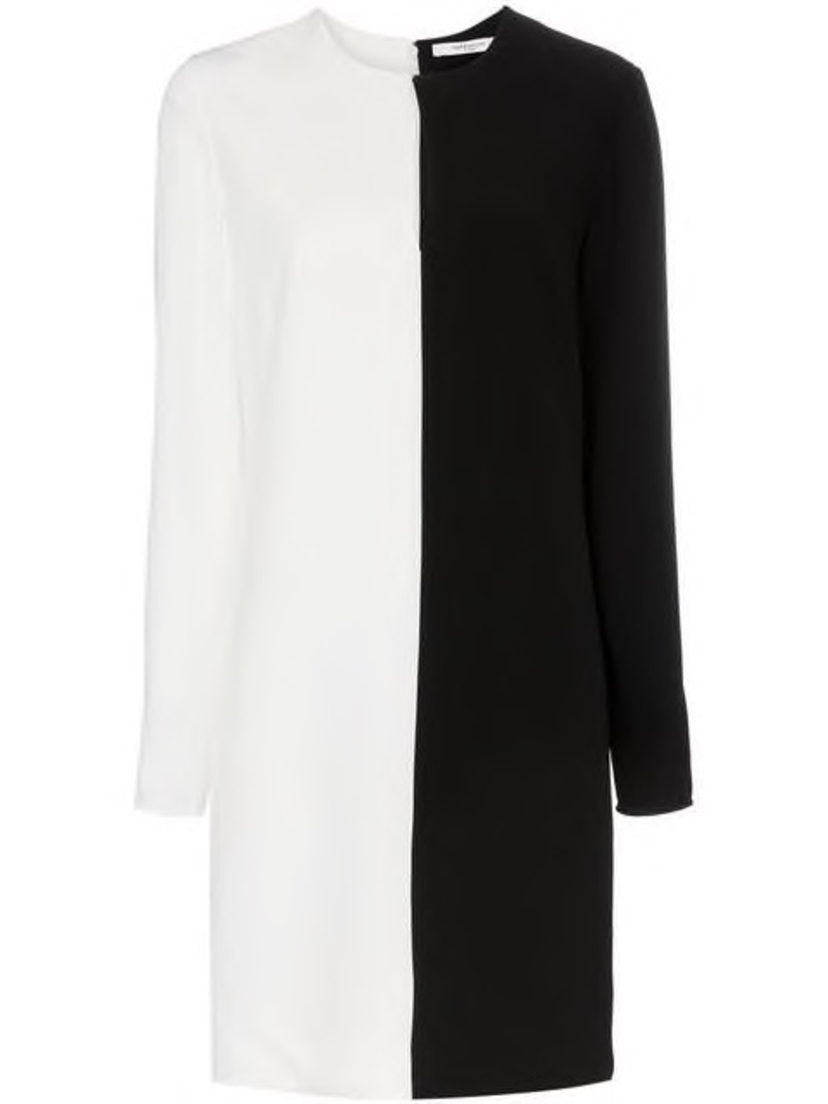 Givenchy Givenchy - Two-Tone Shift Dress