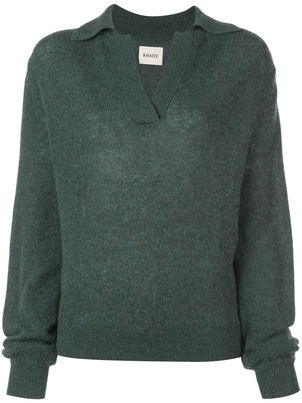 Khaite Forest Green Jo Sweater Tops