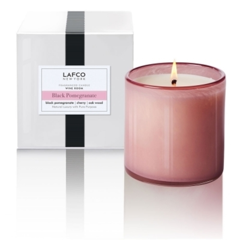 Lafco Black Pomegranate Wine Room 15.5oz Candle Gifts