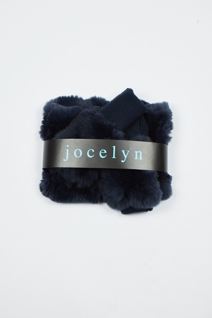 Jocelyn Galaxy Cowl & Mitten Set - Outer Space Accessories