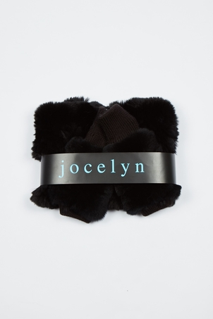 Jocelyn Galaxy Cowl & Mitten Set - Black Accessories