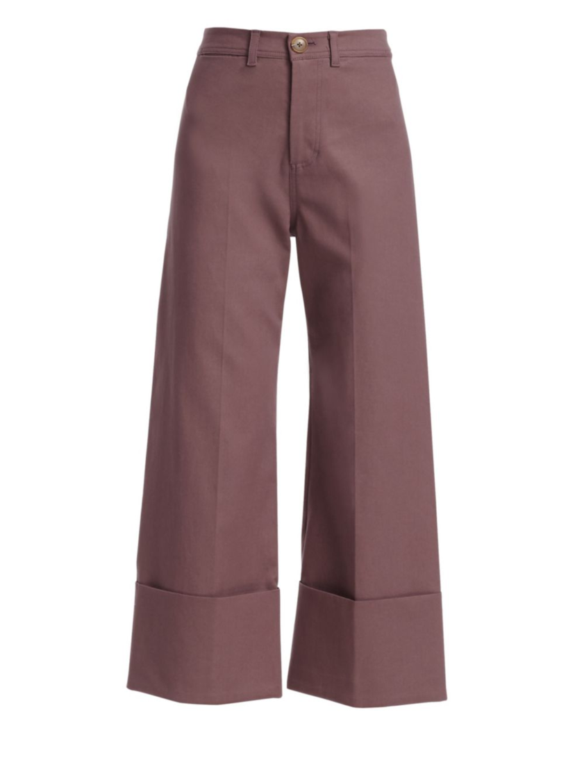 Sea Lennox Cuffed Pant - Mauve Pants