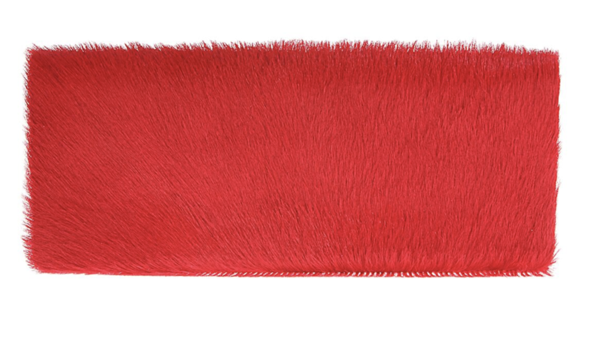 Allison Mitchell Nicole Clutch in Vermillion