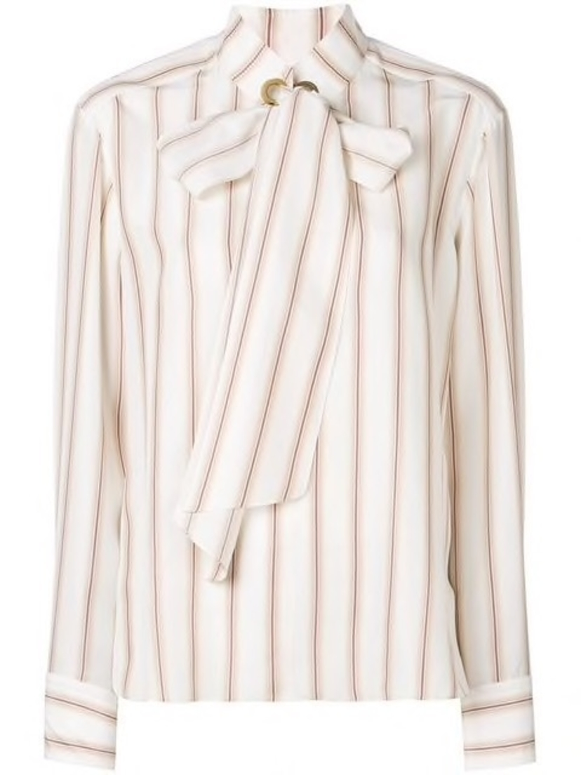 Chloé Chloe - Striped Blouse Tops