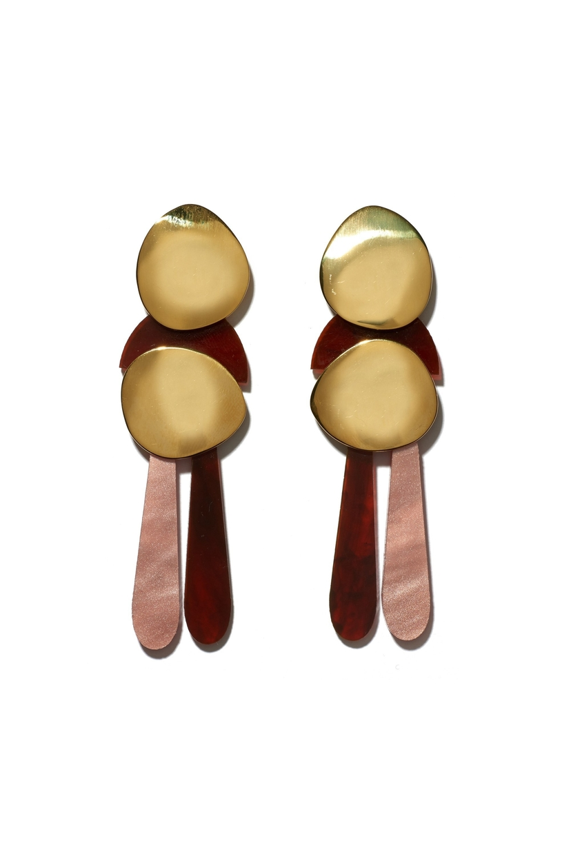 Lizzie Fortunato Mamba Earrings Jewelry