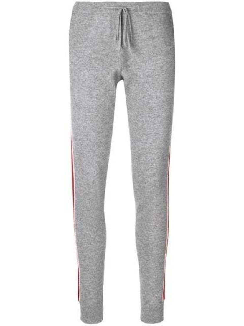 Chinti and Parker Chinti and Parker - Drawstring Side-Stripe Trousers