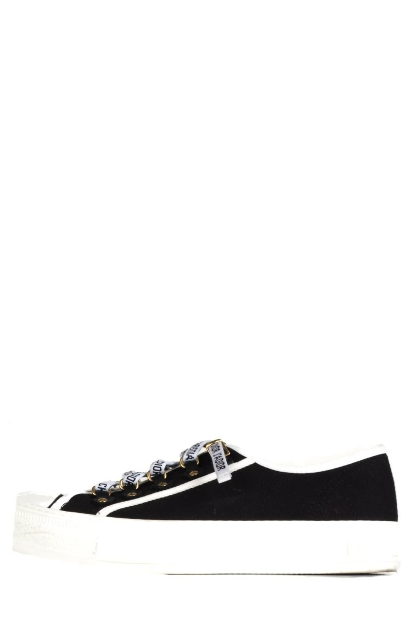 Christian Dior Christian Dior Black Walk 'n' Dior Sneakers 39.5 Shoes