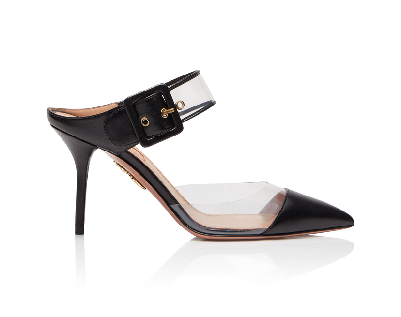 Aquazzura Optic Mule Shoes