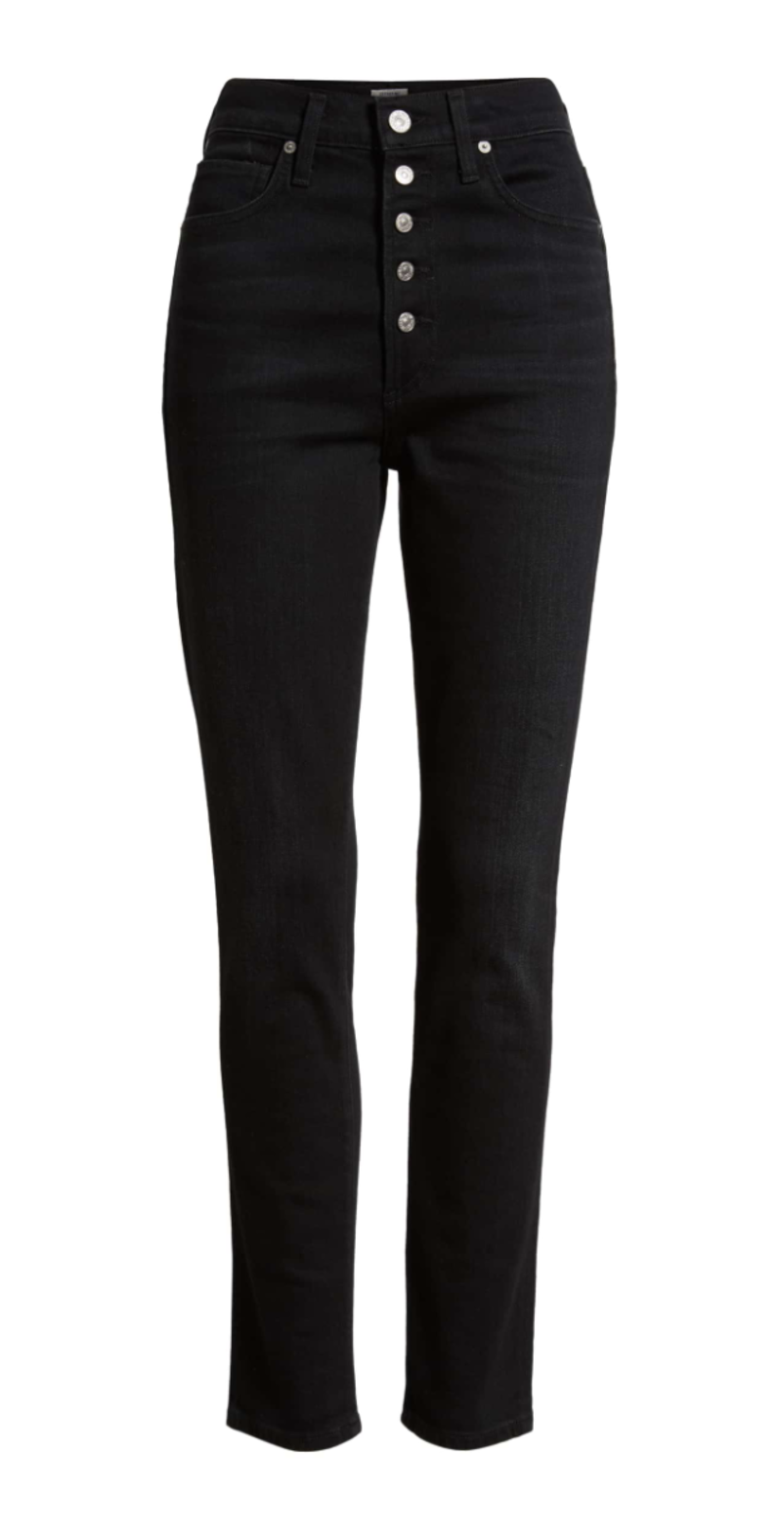 Citizens of Humanity Olivia High Waist Jeans in Licorice Pants