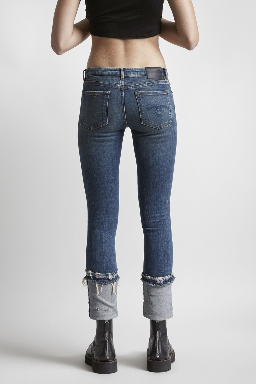 R13 Kate Skinny with Cuff - Kinsley Pants