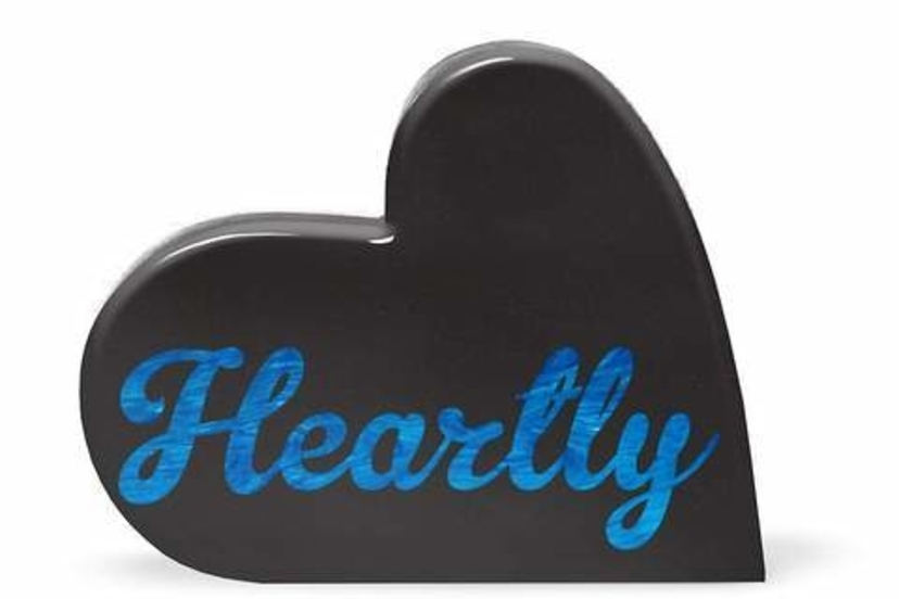 Edie Parker The Heartly Clutch Bags