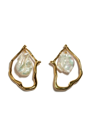 Lizzie Fortunato Lizzie Fortunato - Formation Pearl Earrings Jewelry