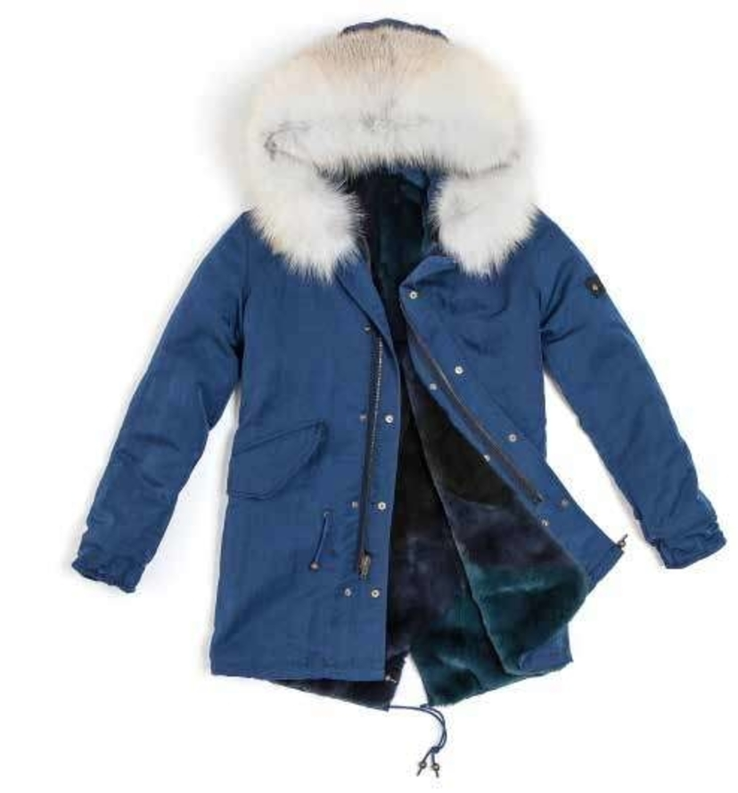 Mr. & Mrs. Italy Reversible Fur Lined Parka Outerwear