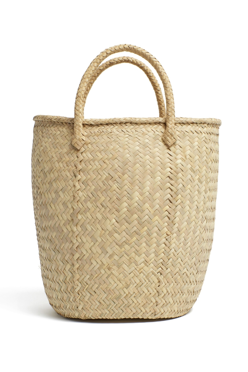Lizzie Fortunato Large Mexican Handled Basket Home decor