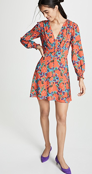 Saloni Eve Mini Dress