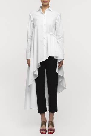 Palmer//Harding Super Shirt - White Poplin Tops