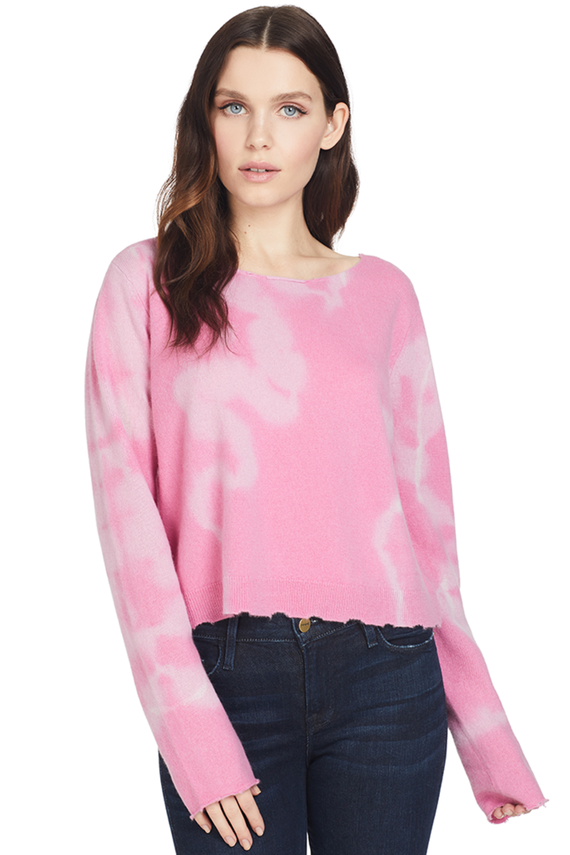 Loveshackfancy Shane Sweater (Pink) Tops