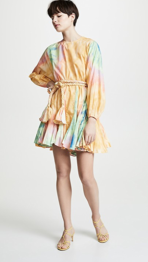 Rhode Resort Ella Dress - Tie Dye Dresses