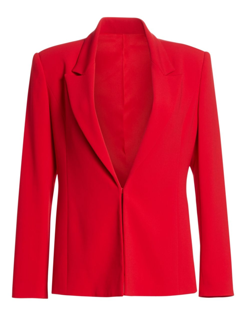 Brandon Maxwell Notch Lapel Jacket Outerwear
