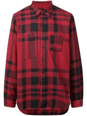 Engineered Garments BIG PLAID SHIRT (Originally $264) Men's