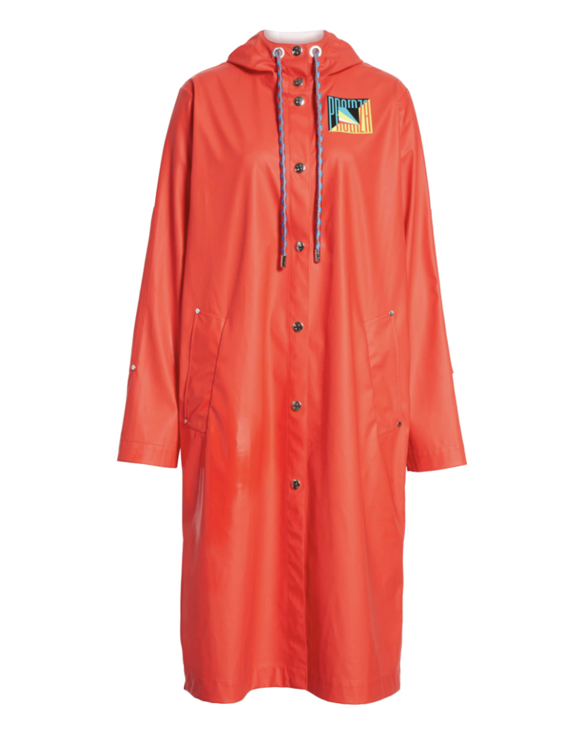 Proenza Schouler Red Raincoat Outerwear