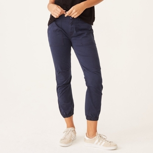 MONROW Monrow Cotton Twill Jogger Pants