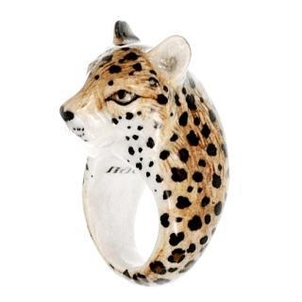 Nach Cheetah Ring Jewelry